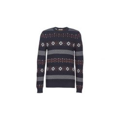 Swetry Selected  SLHNEWMONRAD. Niebieskie swetry klasyczne męskie Selected, l. Za 219,00 zł.