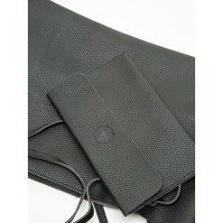 Puzderka: Torba typu shopper z kopertówką w zestawie czarna
