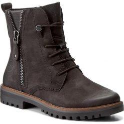 Botki MARCO TOZZI - 2-25215-29 Black Antic 002. Czarne buty zimowe damskie marki Marco Tozzi, z materiału, na obcasie. W wyprzedaży za 279,00 zł.