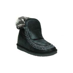 Śniegowce B w  HI222101. Czarne buty zimowe damskie marki B w. Za 219,82 zł.