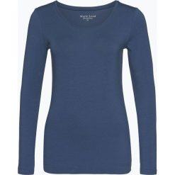 Marie Lund - Damska koszulka z długim rękawem, niebieski. Niebieskie t-shirty damskie Marie Lund, s, z bawełny. Za 69,95 zł.