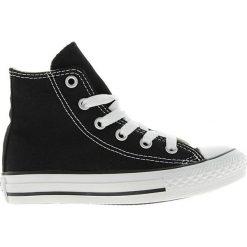 Converse - Trampki dziecięce Chuck Taylor All Star. Czarne buty sportowe dziewczęce marki Converse, z nadrukiem, z gumy, przed kolano. W wyprzedaży za 159,90 zł.