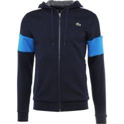 Lacoste Sport Bluza rozpinana navy blue/white/blue royal/pitch. Niebieskie bluzy męskie rozpinane marki Lacoste Sport, m, z materiału. Za 459,00 zł.