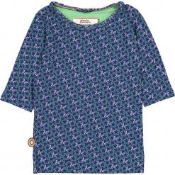 """Bluzka """"What I Got Is What You Need"""" w kolorze niebiesko-zielonym. Niebieskie bluzki dziewczęce marki 4FunkyFlavours Kids, z okrągłym kołnierzem. W wyprzedaży za 82,95 zł."""