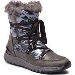Śniegowce MARCO TOZZI - 2-26831-21 Dk.Grey Comb. Szare buty zimowe damskie Marco Tozzi, ze skóry ekologicznej. Za 269,90 zł.