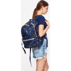 Plecaki damskie: Plecak - Granatowy
