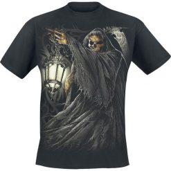 T-shirty męskie z nadrukiem: Spiral Death Lantern T-Shirt czarny