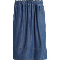 Noa Noa Spódnica trapezowa denim dark blue. Niebieskie spódniczki jeansowe marki Noa Noa, trapezowe. Za 459,00 zł.