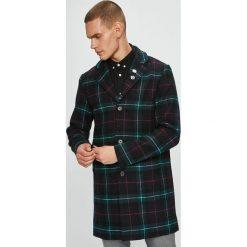 Jack & Jones - Płaszcz. Czarne płaszcze na zamek męskie Jack & Jones, l, z bawełny, klasyczne. W wyprzedaży za 339,90 zł.
