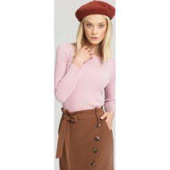 Różowy Sweter Burnished. Czerwone swetry klasyczne damskie other, na jesień, xl. Za 39,99 zł.