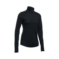 Bluzy sportowe damskie: Under Armour Bluza damska Streaker 1/2 Zip czarna  r. M (91271525-003)