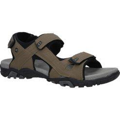 Beżowe sandały na rzepy American BIF0072. Brązowe sandały męskie American, na rzepy. Za 79,99 zł.