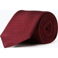 Mc Earl - Krawat jedwabny męski, czerwony. Czerwone krawaty męskie Mc Earl, z jedwabiu, eleganckie. Za 99,95 zł.