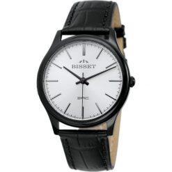 Zegarek Bisset Męski Klasyczny BSCE56 BISX 05BX czarny. Czarne zegarki męskie Bisset. Za 348,99 zł.