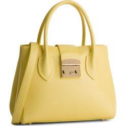 Torebka FURLA - Metropolis 921176 B BMN3 ARE Cedro d. Żółte torebki klasyczne damskie marki Furla, ze skóry. W wyprzedaży za 1009,00 zł.