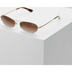 VOGUE Eyewear Okulary przeciwsłoneczne pale goldcoloured. Żółte okulary przeciwsłoneczne damskie lenonki VOGUE Eyewear. Za 579,00 zł.