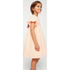 Odzież dziecięca: Mango Kids - Sukienka dziecięca Flour 110-152 cm