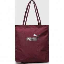Puma - Torebka. Brązowe torebki klasyczne damskie marki Puma, z materiału, średnie. Za 99,90 zł.