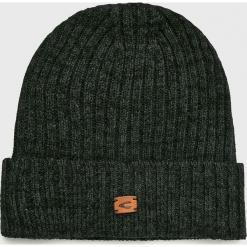 Camel Active - Czapka. Brązowe czapki zimowe męskie marki Camel Active, na zimę, z bawełny. Za 89,90 zł.
