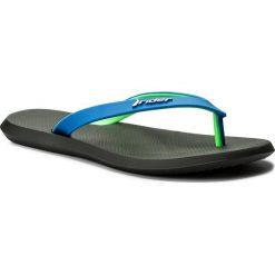 Chodaki męskie: Japonki RIDER - R1 Ad 10594 Black/Blue/Green 02915