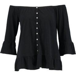 Bluzki asymetryczne: Abercrombie & Fitch VOLUMINOUS Bluzka z długim rękawem black
