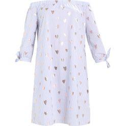 Marc O'Polo DENIM DRESS OFF SHOULDER Sukienka letnia blue. Niebieskie sukienki letnie marki Marc O'Polo DENIM, m, z bawełny, polo. W wyprzedaży za 343,20 zł.