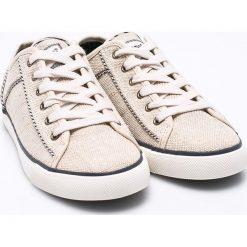 Wrangler - Buty. Szare buty sportowe damskie Wrangler, z gumy. W wyprzedaży za 129,90 zł.