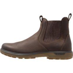Ecco WHISTLER Buty trekkingowe brown. Brązowe buty trekkingowe męskie ecco, z materiału, outdoorowe. Za 669,00 zł.