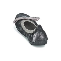 Baleriny damskie lakierowane: Baleriny LPB Shoes  ELLA METAL