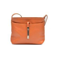Torebka w kolorze koniaku - (S)22 x (W)18 x (G)5 cm. Brązowe torebki klasyczne damskie Bestsellers bags, w paski, z materiału. W wyprzedaży za 159,95 zł.
