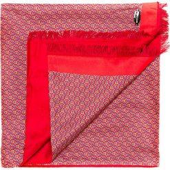 Szal męski 85-7M-S42-X3. Czerwone szaliki męskie marki Wittchen, z materiału. Za 219,00 zł.
