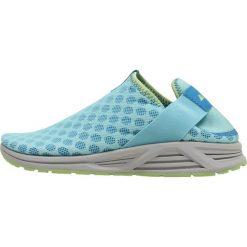 Columbia MOLOKINI SLIP Obuwie do biegania Szlak coastal blue/jade lime. Niebieskie buty sportowe damskie Columbia, z materiału. Za 379,00 zł.
