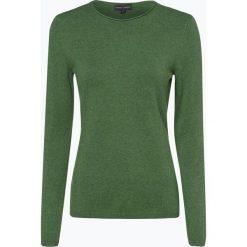 Franco Callegari - Sweter damski z dodatkiem kaszmiru, zielony. Zielone swetry klasyczne damskie marki Franco Callegari, z napisami. Za 229,95 zł.