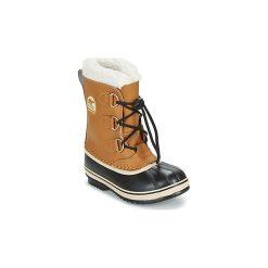 Śniegowce Dziecko Sorel  YOOT PAC TP. Brązowe buty zimowe chłopięce Sorel. Za 379,99 zł.