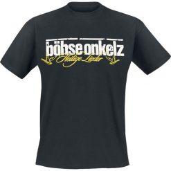 T-shirty męskie z nadrukiem: Böhse Onkelz Gehasst, verdammt, vergöttert 2 T-Shirt czarny
