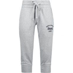 Lonsdale London Leeds Spodnie dresowe damskie szary. Szare spodnie dresowe damskie marki Lonsdale London, m, z nadrukiem, z dresówki. Za 62,90 zł.