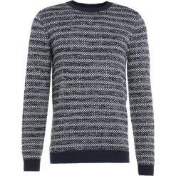 Swetry klasyczne męskie: Essentiel Antwerp INCENTIVE Sweter dark blue