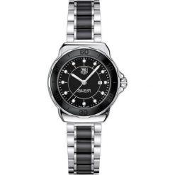 ZEGAREK TAG HEUER FORMULA 1 WAH1314.BA0867. Czarne zegarki damskie marki KALENJI, ze stali. Za 7270,00 zł.