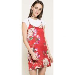 Missguided - Sukienka. Szare sukienki mini marki Missguided, na co dzień, z materiału, casualowe, proste. W wyprzedaży za 69,90 zł.