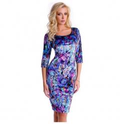 Natalee Sukienka Damska, S, Wielobarwna. Szare sukienki Natalee, s, w kolorowe wzory. Za 219,00 zł.