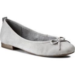 Baleriny TAMARIS - 1-22112-24 Light Grey 204. Szare baleriny damskie zamszowe marki Tamaris. W wyprzedaży za 159,00 zł.