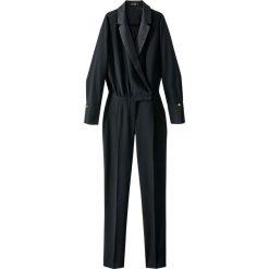 Kombinezony damskie: Kombinezon ze spodniami w stylu smokingu