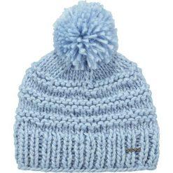 Barts - Czapka Jasmin. Niebieskie czapki zimowe damskie Barts, na zimę, z dzianiny. W wyprzedaży za 79,90 zł.
