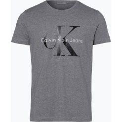 Calvin Klein Jeans - T-shirt męski, szary. Czarne t-shirty męskie marki Calvin Klein Jeans, z bawełny. Za 179,95 zł.