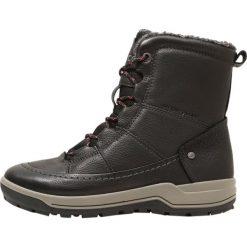 Ecco TRACE LITE Śniegowce black. Czarne buty zimowe damskie ecco, z materiału. Za 769,00 zł.
