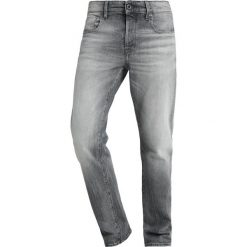 GStar 3301 STRAIGHT Jeansy Straight Leg lavas grey stretch denim medium aged antic. Szare jeansy męskie marki G-Star. Za 659,00 zł.