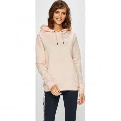 Nike Sportswear - Bluza AJ6315. Różowe bluzy z kapturem damskie marki Nike Sportswear, l, z nylonu, z okrągłym kołnierzem. Za 239,90 zł.