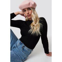 Trendyol Sweter Milla - Black. Czarne swetry klasyczne damskie Trendyol, z dzianiny. Za 80,95 zł.