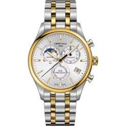 PROMOCJA ZEGAREK CERTINA Certina DS 8 Chrono Moon Phase C033.450.22. Szare, cyfrowe zegarki męskie marki CERTINA, ze stali. W wyprzedaży za 3115,20 zł.