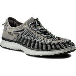 Sandały KEEN - Uneek 02 1018719 Steel Grey/Raven. Szare sandały męskie marki Keen, z materiału. W wyprzedaży za 259,00 zł.
